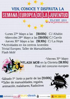 Semana Europea de la Juventud.