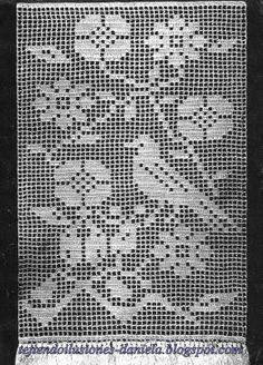 Tejido A Crochet Visillo Cortina Com Portal Pelautscom