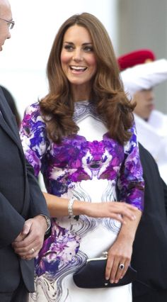 the QUEEN of playful glam, HANDS DOWN #katemiddleton #ALDOpinthetrends