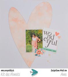 Bunterpinguin: Scrapbooklayout für Scrapabilly mit Photo Play Paper Schwangerschaft Pregnancy