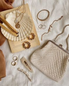 Dainty Jewelry, Cute Jewelry, Statement Jewelry, Vintage Jewelry, Unique Jewelry, Cream Aesthetic, Classy Aesthetic, Beige Aesthetic, Kelsey Rose