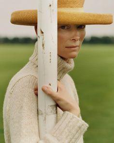 Tilda Swinton by Alasdair McLellan for Vogue UK, November 2011