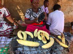 Street food Nigeria style. #barbecued Plantain #fastfood #nigeria #lovefood #sholasays