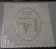 Golden Wedding Anniversary Card by: foxbell