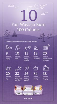 Exercise is not always just working out. Here are a few other ways to burn some calories.
