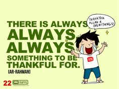"#022 Ahmad Says: ""There is always, always, always something to be thankful for."""