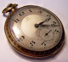 Vintage omega pocket watch please help!