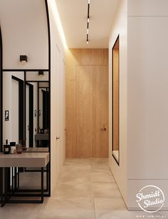 Project Warm | Minsk, Belarus on Behance Modern Luxury Bathroom, Modern Bathroom Design, Modern House Design, Parquetry Floor, Kitchen Design Open, Cozy Apartment, Laundry Room Design, Cool House Designs, Living Room Inspiration