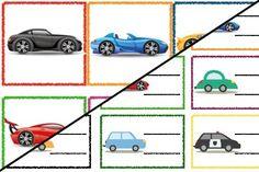 Znaczki przedszkolne – Transport Transport