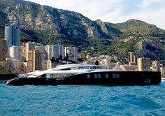 """A Superyacht army has arrived for the 2016 Monaco F1 Grand Prix.  Here is the 66m """"Okto"""" built by Isa Yachts in 2014.  The main feature of Okto is an incredible infinity at its stern and a helicopter landing pad at the front. Okto is for sale through @ycoyacht for an asking price of 54.500.000  Captured by @superyachttimes  #superyacht #superyachts #yacht #yachts #monaco #frenchriviera #summerseason #megayacht #monacoyachtshow #superyachtmonaco #luxury #luxuryyachts #yachtlifesylifestyle…"""