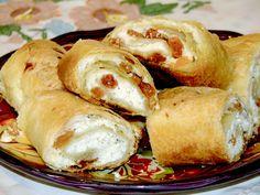 Russian Recipes, Russian Foods, Romanian Food, Strudel, Croissants, Pretzel Bites, Cheesecake Recipes, Baked Potato, Food And Drink