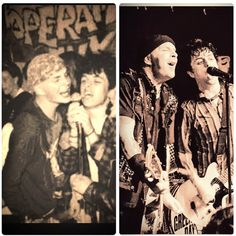 My two 1st crushes... Billie Joe Armstrong & Tim Armstrong ❤
