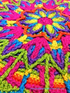 Overlay Crochet Mandala No.1! https://www.etsy.com/au/listing/104510956/crochet-overlay-mandala-no-1-pattern-pdf