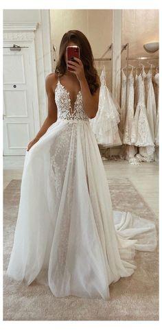 Cute Wedding Dress, Long Wedding Dresses, Bridal Dresses, Simple Beach Wedding Dresses, Sleeveless Wedding Dresses, Vintage Boho Wedding Dress, Lace Fishtail Wedding Dress, Rustic Wedding Gowns, White Evening Dresses