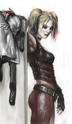 Carlos d'Anda : Batman Arkham City Concept Art
