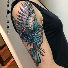 Lady Tattooers @ladytattooers Featured #TattooArtist @noelle_lamonica!! Support & follow this talented lady! #LadyTattooers