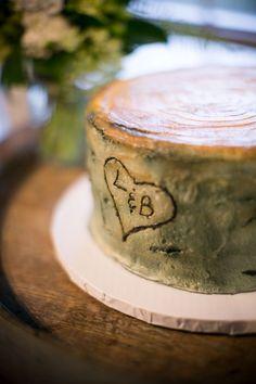 2 tier rustic wedding cakes - Google Search