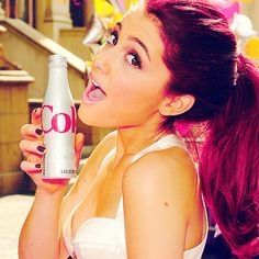 Take a look at all the best pictures of Ariana Grande. and by best, we mean all the hottest pictures of Ariana Grande. Ariana Grande Red Hair, Sam And Cat, Ariana Grande Pictures, Dangerous Woman, Favim, Hot Dress, Woman Crush, Girl Crushes, Role Models