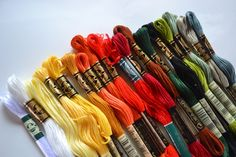 Fly Tying Material: DMC Embroidery Floss for Midge Patterns