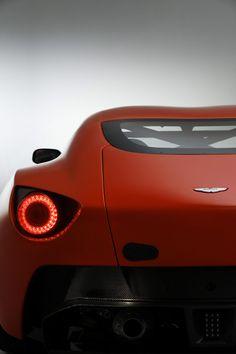 Aston Martin V12 Zagato rear end