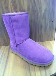 purple uggs for lounging not exactly a fashion statement but look super comfy!