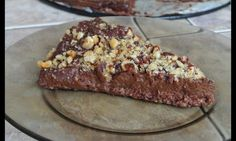 Hříšně čokoládový dortík z avokáda