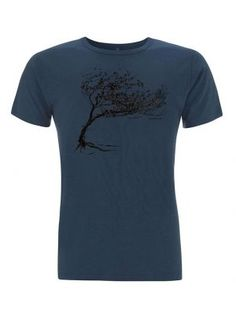 Bio-Herren-Bamboo-Viskose-T-Shirt Windy Tree Bamboo, Mens Tops, T Shirt, Fashion, Vegan Fashion, Tee, Moda, La Mode, Fasion
