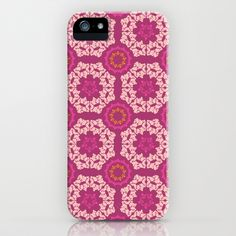 Moroccan Textured Tile iPhone & iPod Case by Rebecca Stoner - $35.00