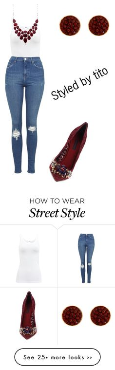 """""""Street style"""" by leoperry on Polyvore featuring мода, Wolford, Topshop и Henri Bendel"""