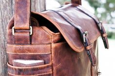 Ona Brixton Leather handson the sexiest laptop  camera messenger bag you've ever seen $419