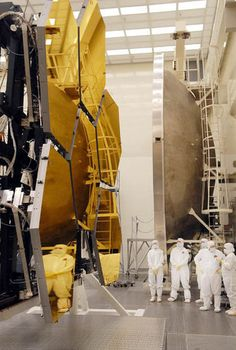 Hexagonal primary mirrors for the new James Web Space Telescope (JWST)