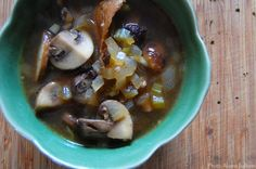 Mushroom and Nori Soup - Mark Bittman