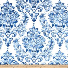 Richloom Solarium Indoor/Outdoor Jupton Delft from Screen printed on polyester, this Solarium Outdoor fabric. Outdoor Fabric, Indoor Outdoor, Outdoor Decor, Home Decor Fabric, Colorful Wallpaper, Toss Pillows, White Decor, Delft, Chinese Art