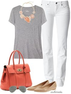 """""""J.Crew Peachy"""" by archimedes16 on Polyvore"""