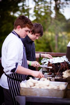 Take the traditional barbeque to the next level - A casually gorgeous barbeque wedding reception