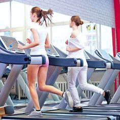 """You Can Do Anything For a Minute"" Treadmill Workout - interval training"