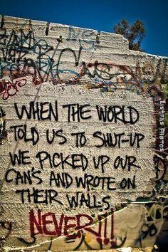 rebellious teens graffiti art - Google Search