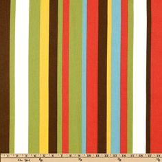 Robert Allen Kukula Stripe Pinata - Discount Designer Fabric - Fabric.com