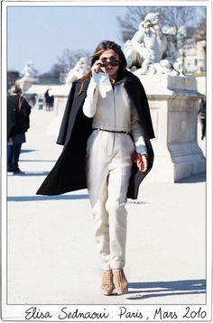The Chloé Woman - Garance Doré - did I pin this already? So confident.