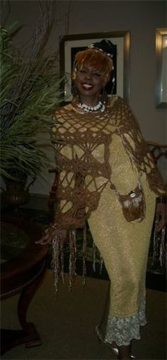 Daily Affirmation -- I am in the natural rhythm and flow of life.  AWEsome Crochet by Designer Gina Renay