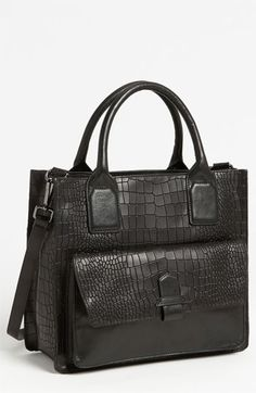 WE might have a winner?  Kenneth Cole New York 'Belt One Back' Satchel available at #Nordstrom