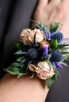 18 Chic and Stylish Wrist Corsage Ideas You Can't Miss! #corsages 18 Chic and Stylish Wrist Corsage Ideas You Can't Miss! #weddings #weddingideas