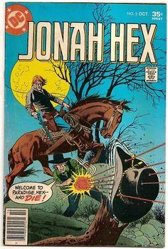 BRONZE AGE 1977 JONAH HEX #5 DC COMICS WESTERN ADVENTURE!!