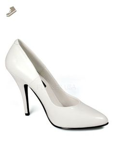 f1208878f1d9 Sexy High White 5 Inch Heel Pump - 13 - Pleaser pumps for women (