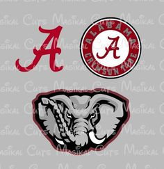 Alabama Logos SVG, Studio, EPS, and JPEG Digital Downloads – Magikal Cuts