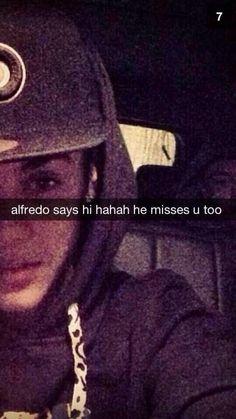 Alfredo says hi, he's missing you too :)