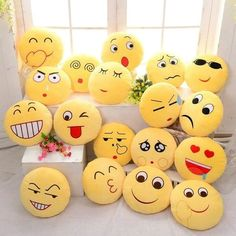 Where to buy emoji pillows? NewChic offer quality emoji pillows at wholesale prices. Shop cool personalized emoji pillows with unbelievable discounts. Bed Cushions, Sofa Pillows, Throw Pillows, Sofa Bed, Cushion Pillow, Car Sofa, Outdoor Cushions, Smile Wallpaper, Emoji Wallpaper