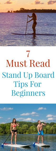 Quick and easy stand up board tips for beginners!