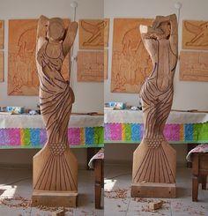 Deniz kızı heykeli