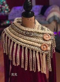 Skill level - Beginners / easy   This is an easy to make Crocheting Pattern for a standard cowl / coverup  The same style as shown in the images. --------------------This is not a listing for a finished poncho - only a pattern---------------------------------   . Pattern - Crocheting,